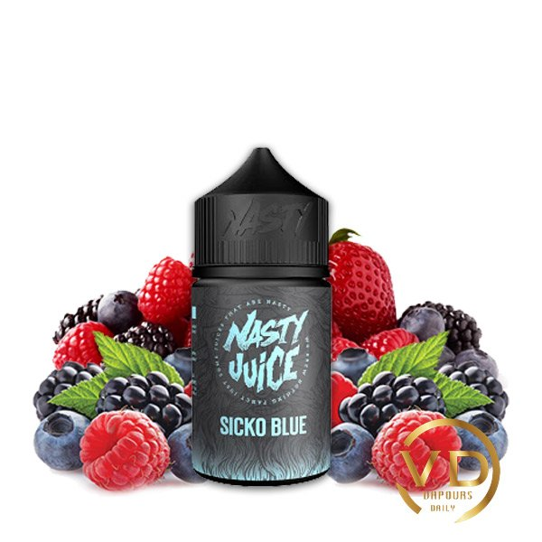 جویس نستی تمشک و توت NASTY SICKO BLUE