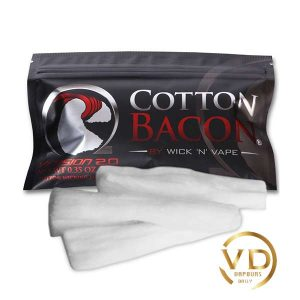 پنبه بیکن WICK 'N' VAPE BACON V2 COTTON